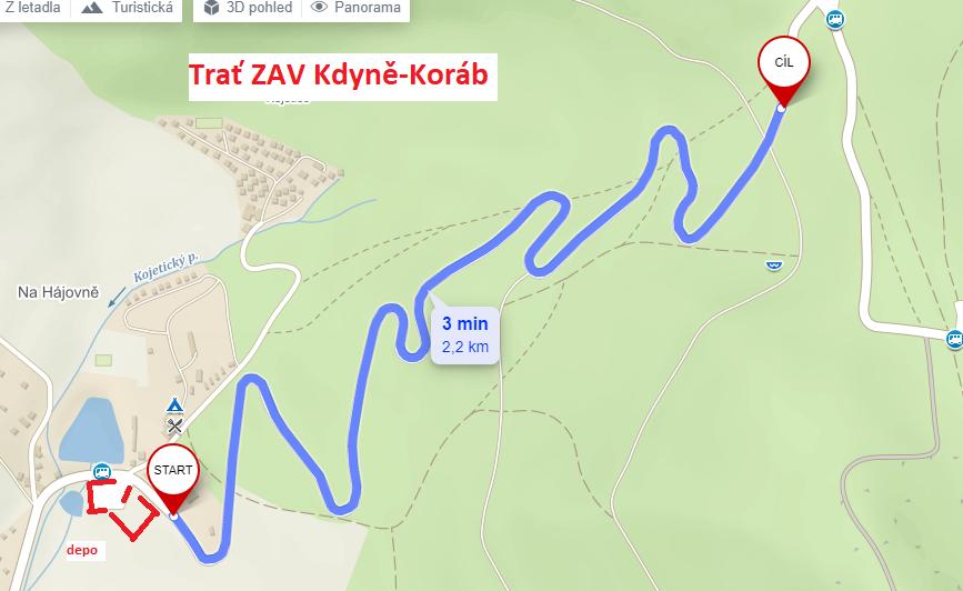 ZAV Kdyně-Koráb-Trať a depo